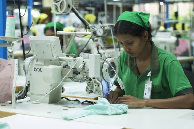 sewing operator efficiency